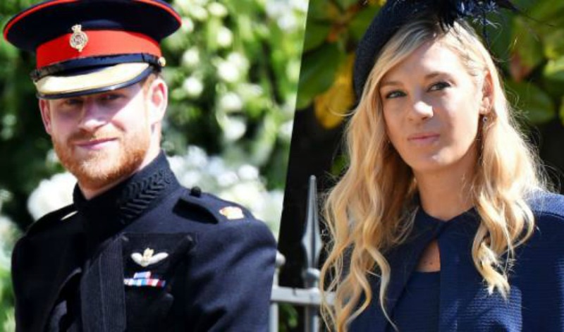 Prince Harry in tearful call with Zimbabwean ex before wedding