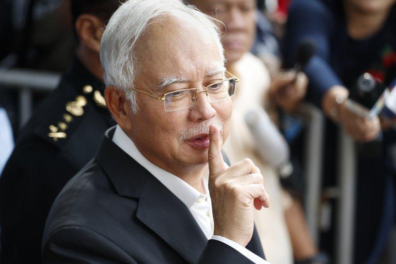 $28.6 million in cash seized in ex-Malaysia PM's graft probe