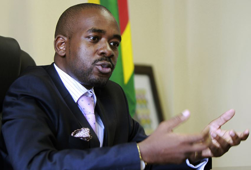 Chamisa blasts Mnangagwa over Museveni invite