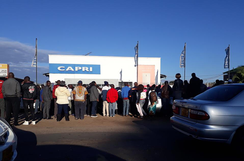 Consumers queue for fridges amid price hikes as Zim economy falters