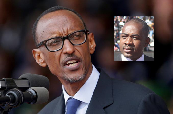CLARIFICATION: Chamisa says helped President Kagame with ICT policy – but Rwanda leader says NEVER