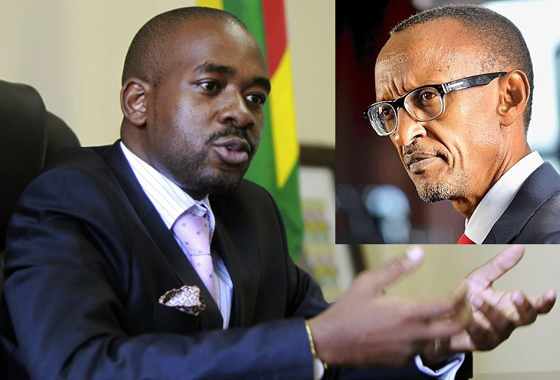Chamisa to Rwanda president – you can't remember everything