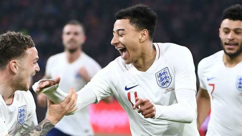 Jesse Lingard feeling more comfortable with England than United
