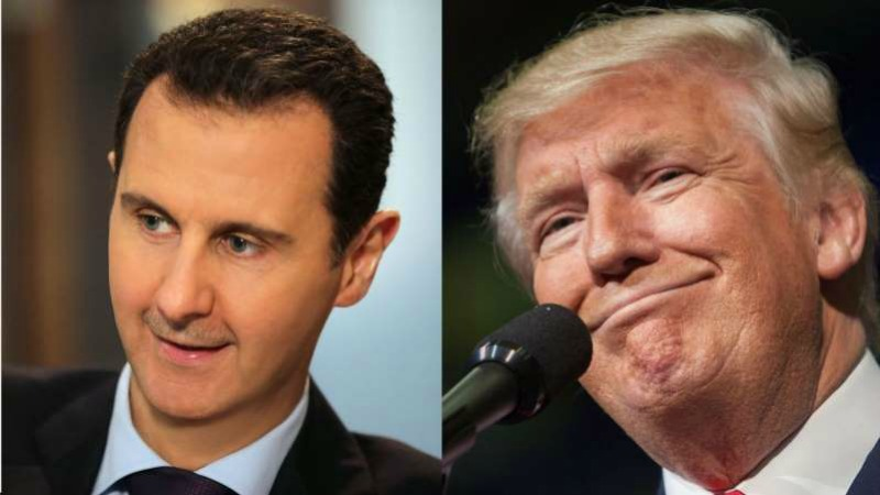 Assad to Trump: you are an animal yourself