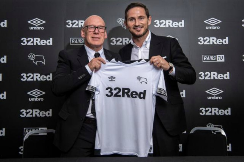 Chelsea legend Frank Lampard named Derby Country manager