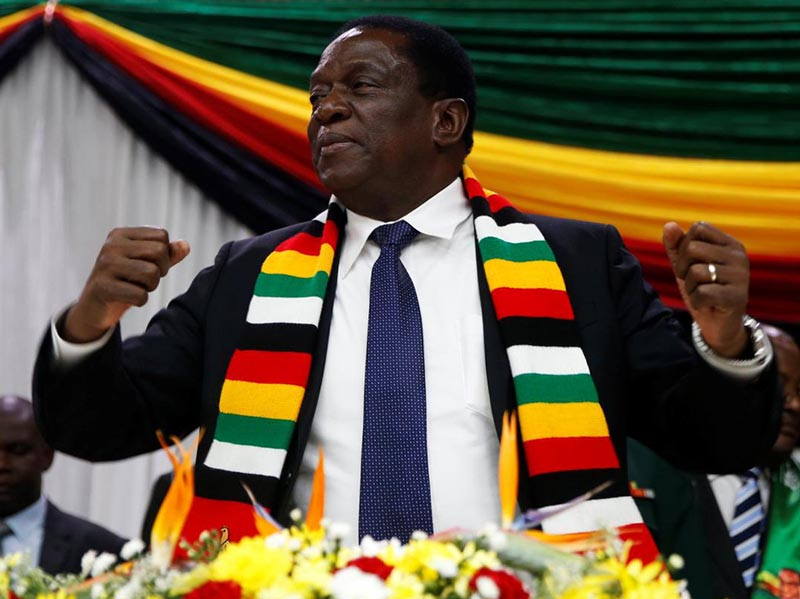 UK Commonwealth Parly crew confronts Mnangagwa over poll reforms