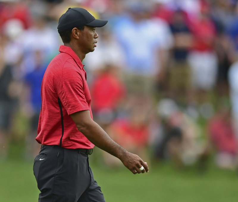 Woods happy with his game despite another Sunday fade