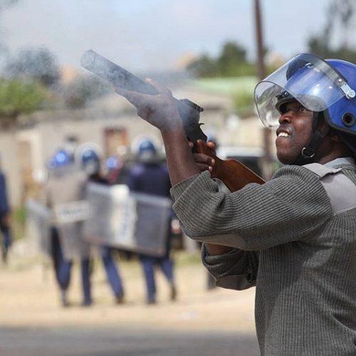 Police block ConCourt poll challenge prayer meeting