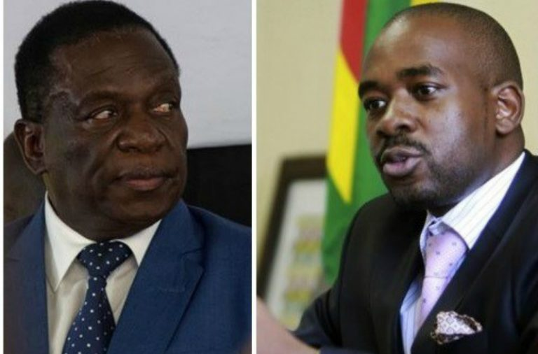 Mnangagwa, Chamisa to meet before presidential election?