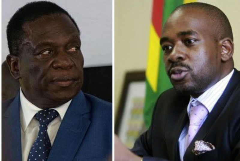 African Union calls for peaceful resolution of Zim's post-election row