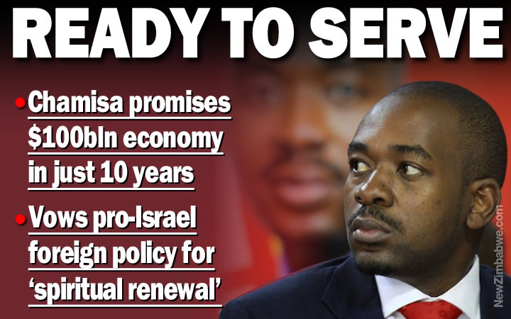 Chamisa promises $100bln economy if he wins vote, surprises with foreign policy shift