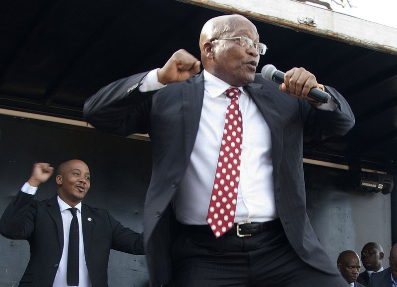 SA's Zuma will head to recording studio in 2019; plans to release 'trademark struggle songs'