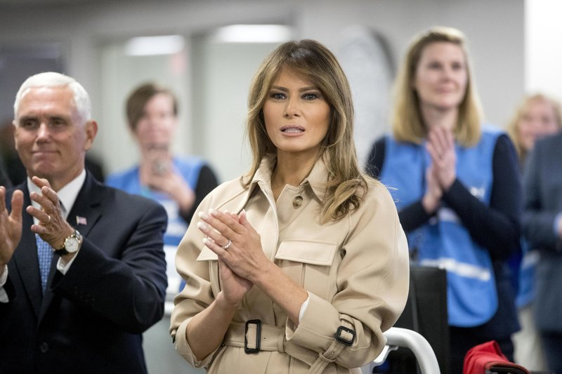 Trump: First lady had 'big operation,' can't fly for a month