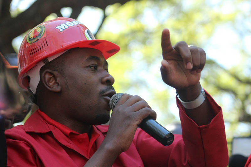 Chamisa says he asked Tsvangirai to leave Mudzuri as party leader
