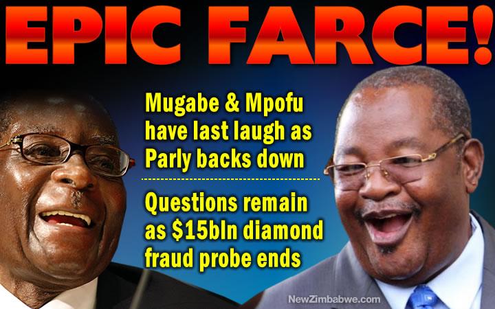 $15bln diamond fraud: Defiant Mugabe wins as Mliswa backs off