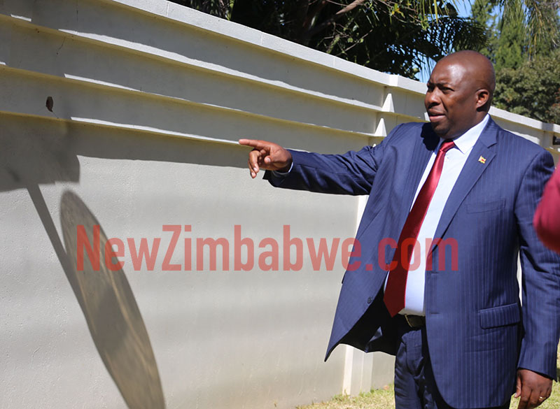 Court rules Kasukuwere has case to answer; Pictures as magistrate inspects his Harare home