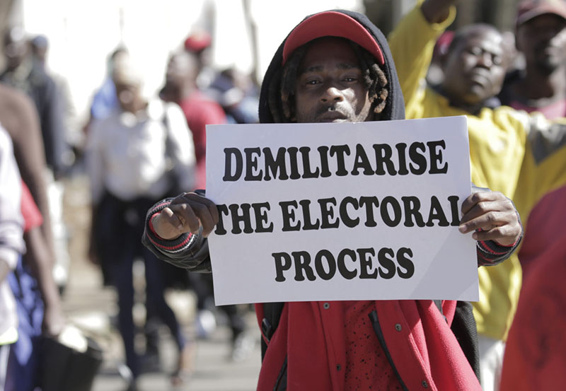 Zimbabwe vote: what are the fraud claims?
