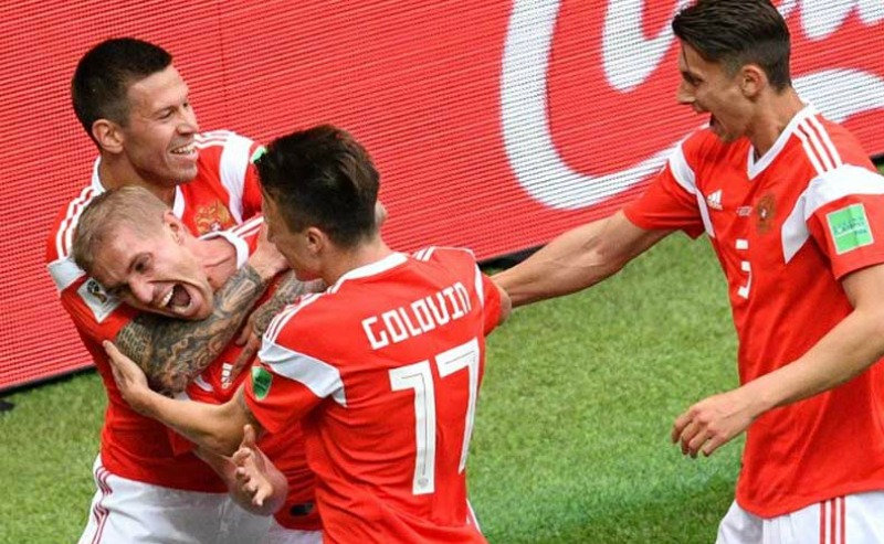 Russia Put(in) five against Saudi Arabia as the World Cup gets underway