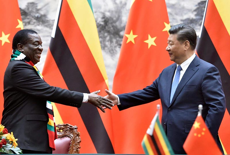 China president's special envoy meets Mnangagwa on ties