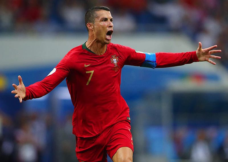 Off-field woes forgotten as Ronaldo makes mark on World Cup