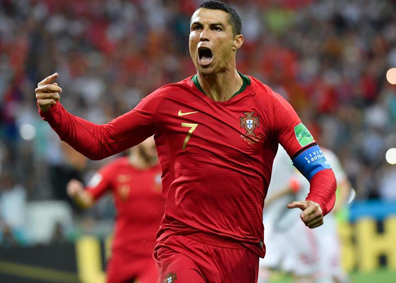 Ronaldo propels Portugal to victory yet again