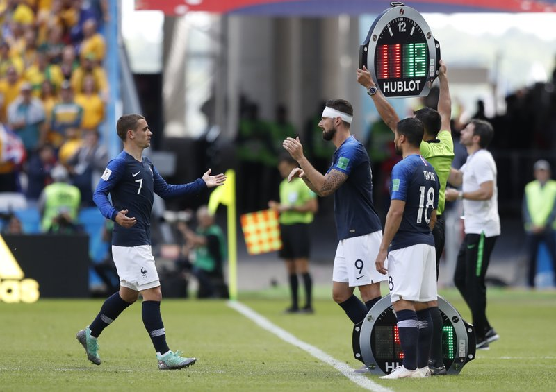 French tactics under question after opening World Cup win