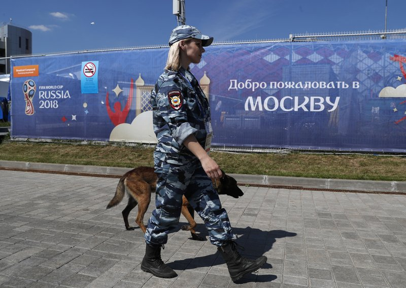 Amid bitter UK-Russia relations, police link up at World Cup