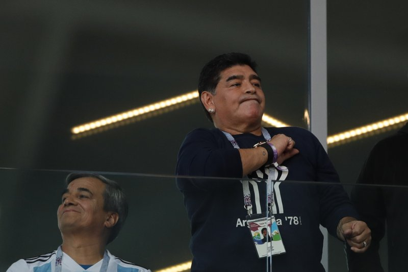 Maradona pours scorn on Argentina coach after Iceland draw