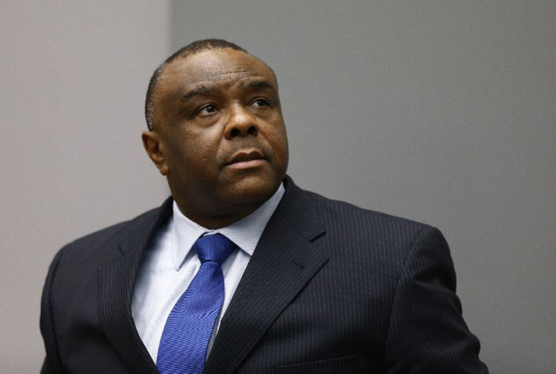 Acquitted former DRC vice president Bemba in Belgium