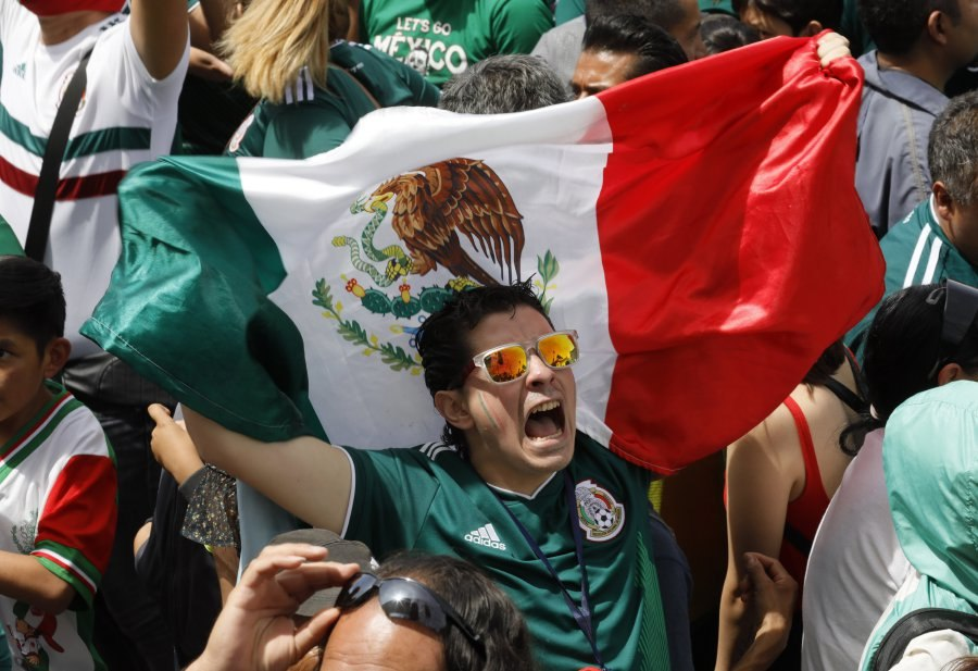 Mexico quakes with joy over World Cup upset win