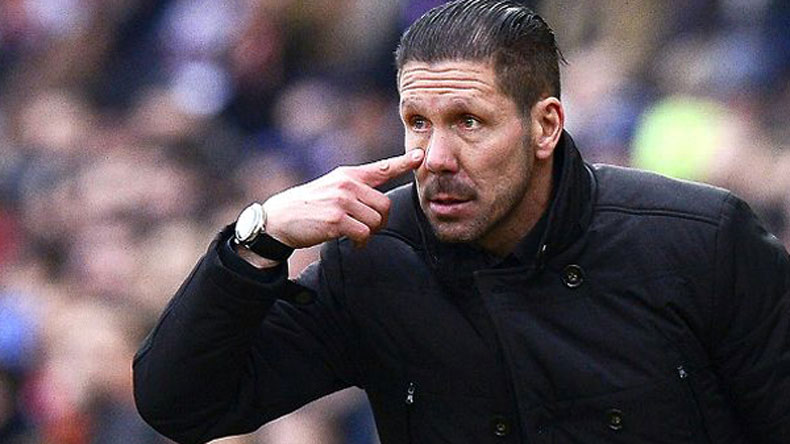 Simeone slams Argentia 'anarchy', takes jab at Messi