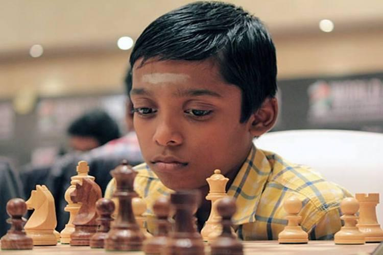 12-year-old becomes global chess champion