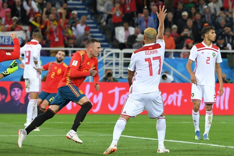 Coach says Spain must tighten up after Morocco draw