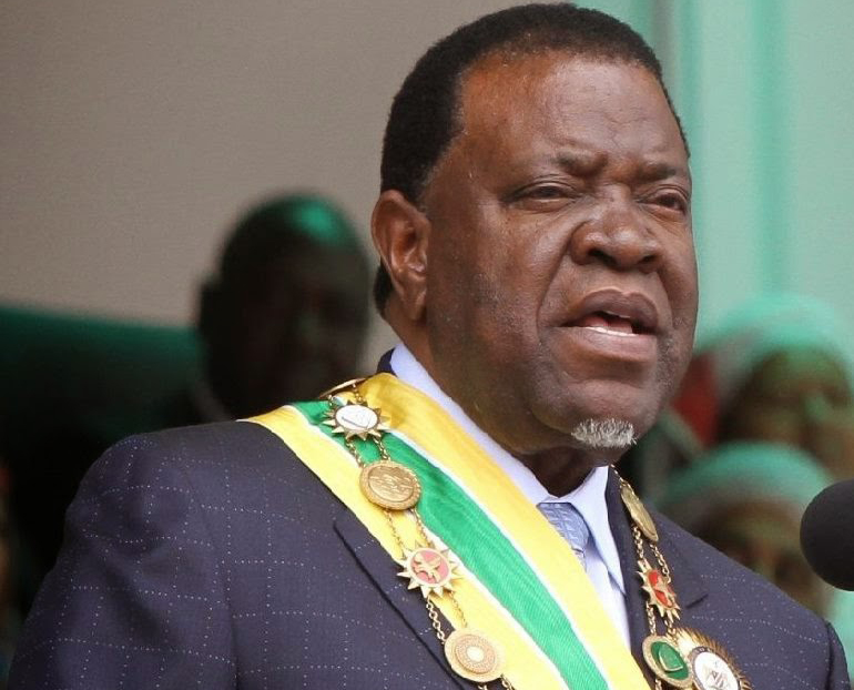 ZIM bomb attack: Namibia president warns that SADC won't tolerate violence