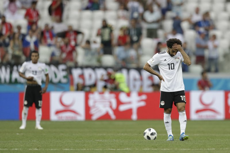 Love for Salah offers refuge from Egypt's World Cup exit