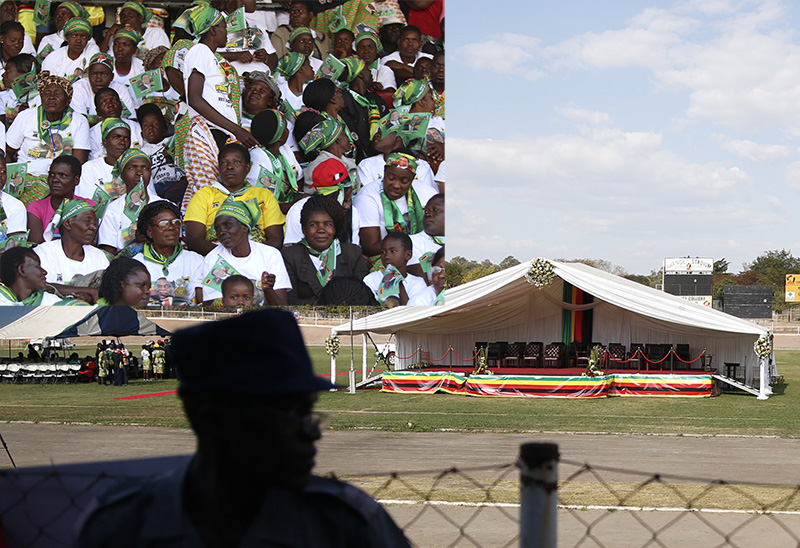 HWANGE: Anger as Mnangagwa snubs supporters; thousands had patiently waited all day