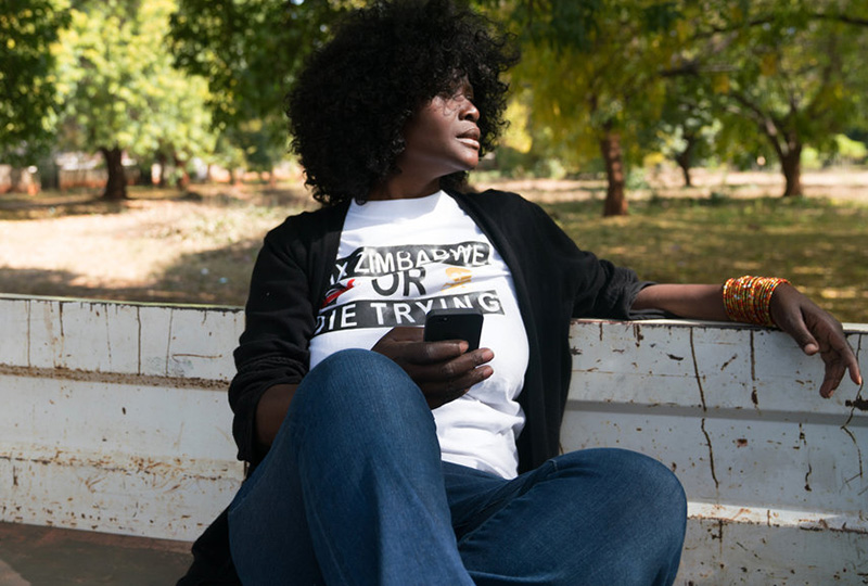 'A New Life': An Activist Comes Home To Zimbabwe, Hoping To Hold Leaders Accountable