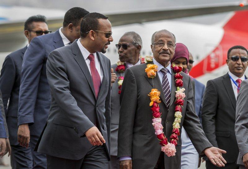 Ethiopia, Eritrea leaders to meet 'soon' in surprising thaw