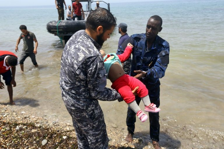 Three babies dead, 100 missing in migrant shipwreck off Libya