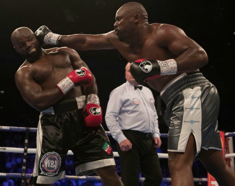 Victorious Dereck Chisora targets Deontay Wilder for WBC title