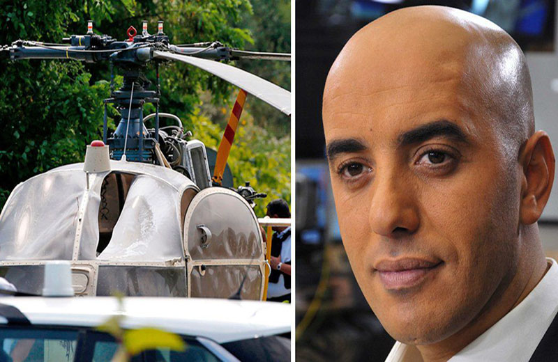 Notorious French gangster in spectacular helicopter jailbreak