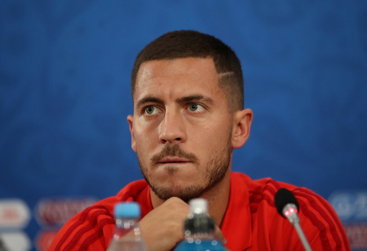 Hazard says time is right for Belgium to shine at World Cup