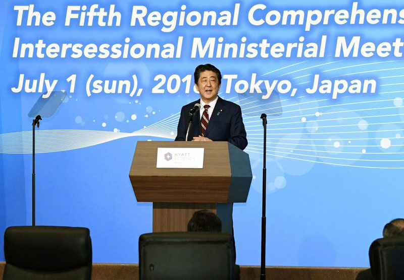 Asian economies discuss trade pact amid rising protectionism