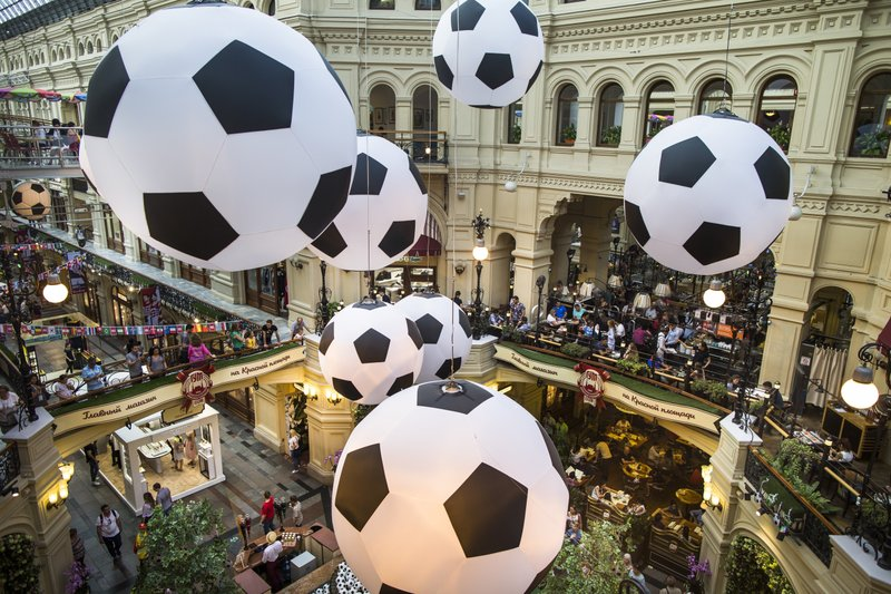 World Cup fans rev up revenues for sanctions-hobbled Russia