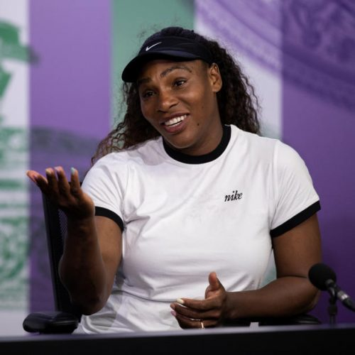 Serena Williams talks motherhood, insecurities at conference