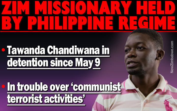 Philippines: MPs wade into detained Zimbabwean's case; man charged with 'communist terrorist activities'