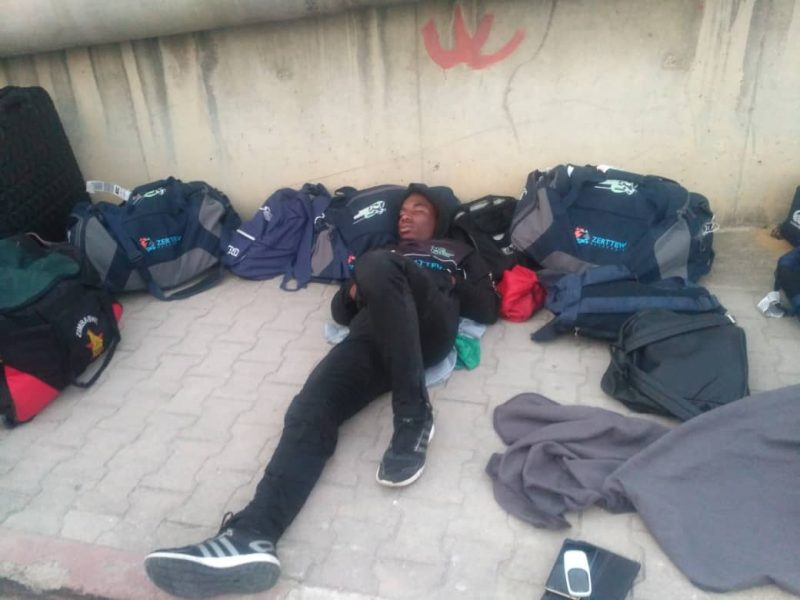 Tunis, Harare swap blame after Zimbabwe rugby team sleeps on street over 'disgusting' hotel
