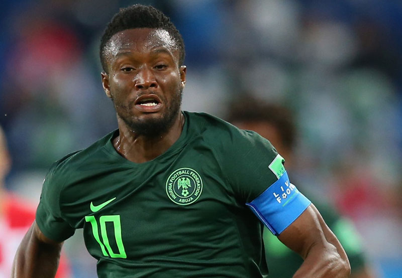 Nigeria's ex-Chelsea star Obi Mikel dumps Super Eagles