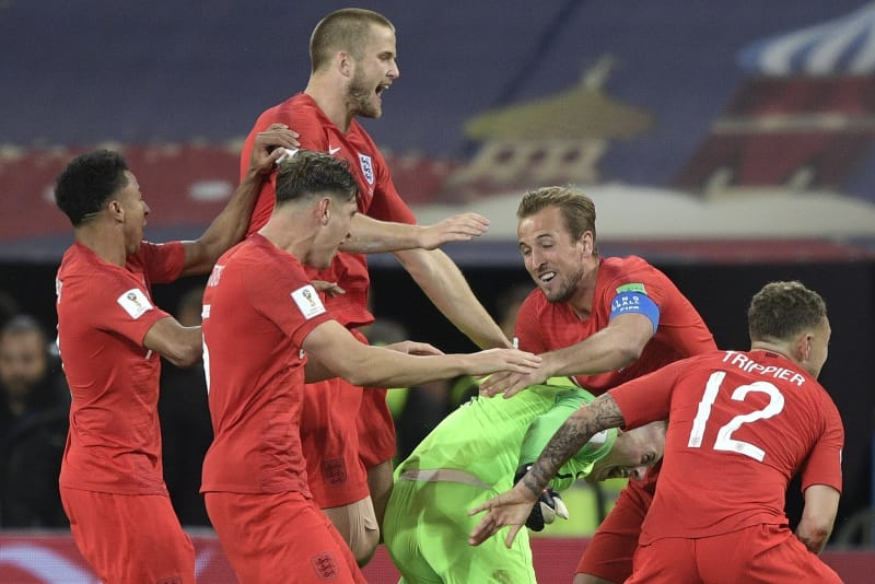 England end penalty pain to beat Colombia in World Cup shootout