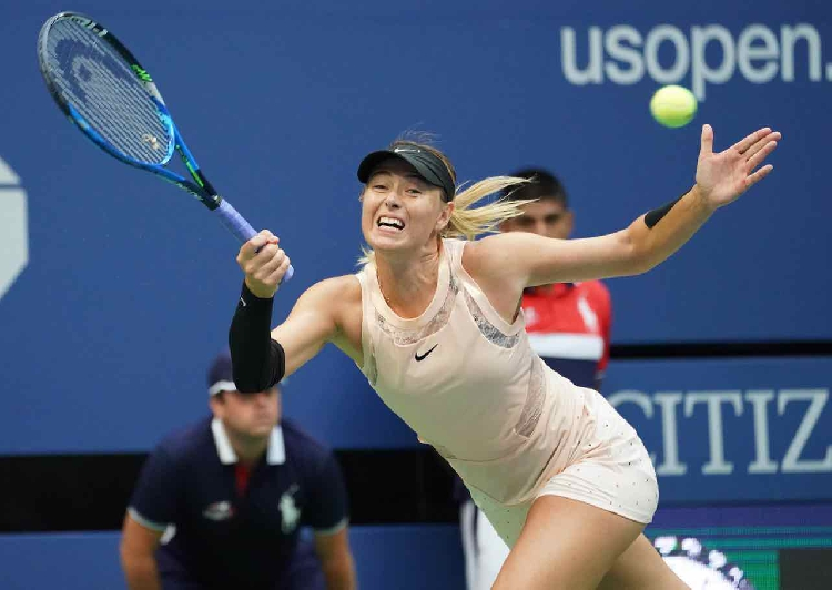 Former champs Sharapova, Kvitova crash out, Nadal, Djokovic through